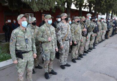На Донбасі відбулася ротація зведеного загону поліції Сумщини