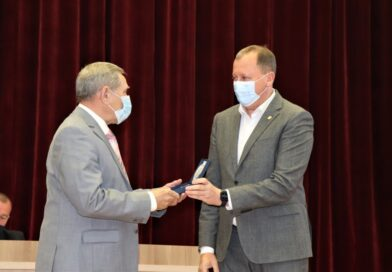 Директор Сумського будівельного коледжу отримав Почесну відзнаку «За заслуги перед містом»
