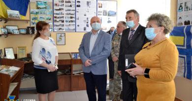 Урок пам'яті Героя України Олександра Аніщенка відбувся у школі, яка носить його ім'я
